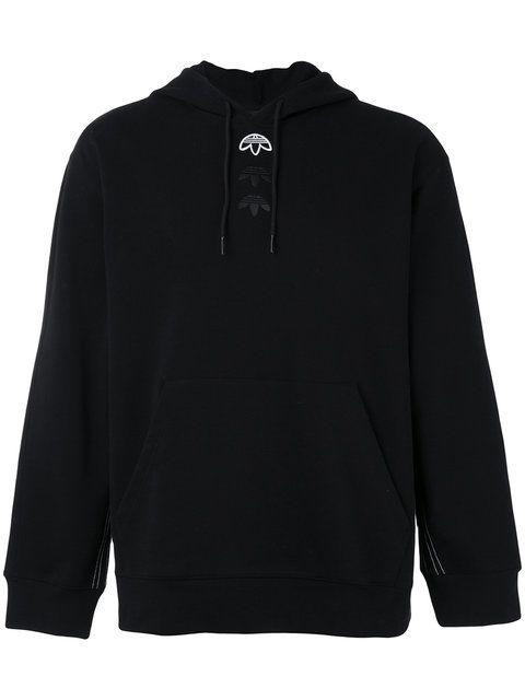 ADIDAS ORIGINALS BY ALEXANDER WANG Logo Hoodie. #adidasoriginalsbyalexanderwang #cloth #hoodie