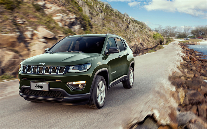 Download Wallpapers Jeep Compass 4k 2017 Cars Suvs 4x4