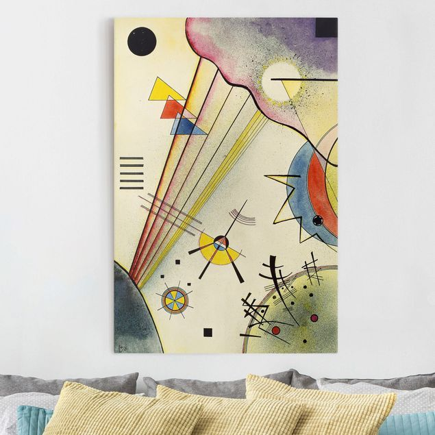 Stampa su tela Wassily Kandinsky - Distinto Connection - Verticale 3 ...