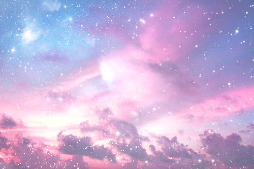 Galaxy Pastel Sky Wallpaper Notebook Pastel Aesthetic