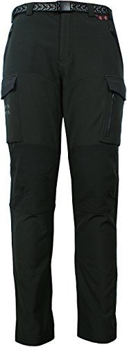 Angel Cola Mens Outdoor Hiking  Climbing Cargo Fleece Lined Pants PM5401 Gray 34 * Check out this great product.Note:It is affiliate link to Amazon.