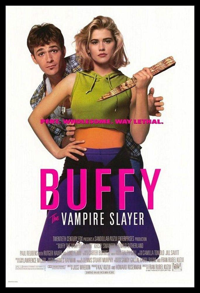 Buffy The Vampire Slayer Fridge Magnet 6x8 Luke Perry Movies Posters Vampire Film Vampire Movies Buffy The Vampire