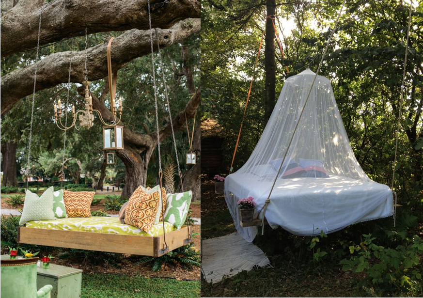 10 lits d 39 ext rieur suspendus projets essayer. Black Bedroom Furniture Sets. Home Design Ideas