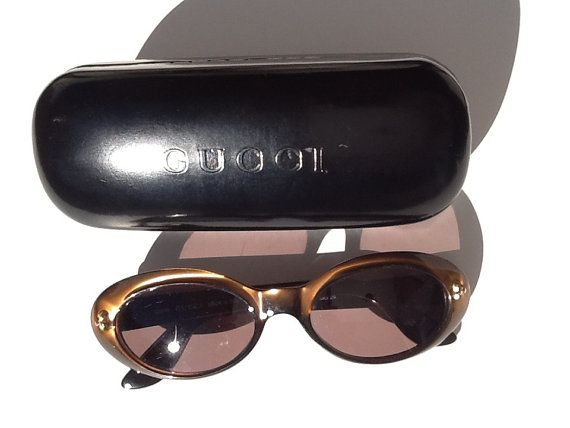 Vintage Gucci sunglasses made in Italy