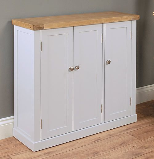 Large Shoe Storage Cupboard Chadwick Entry Way – Solid Wood Storage Cabinet