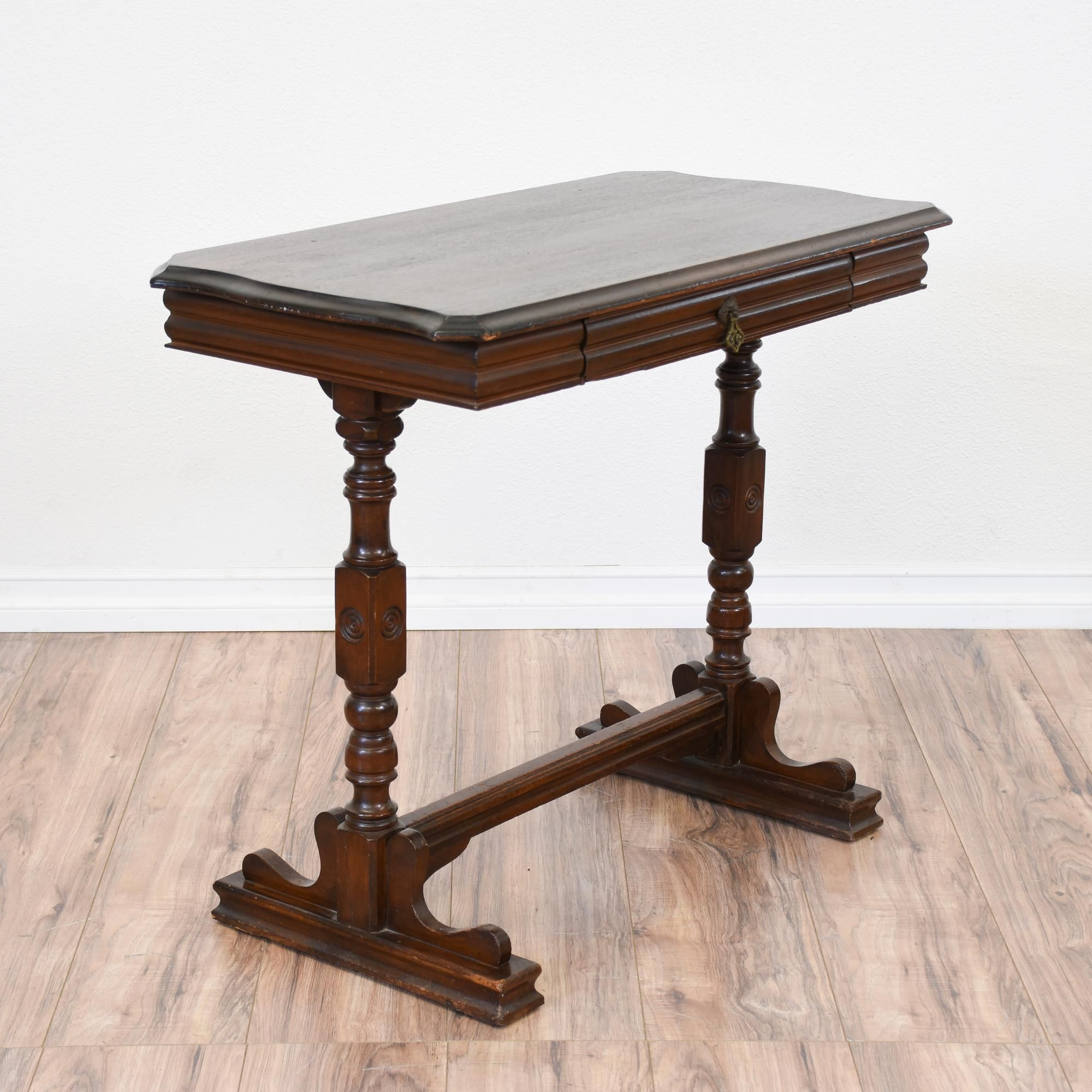 This console table is featured in a solid wood with a glossy dark this console table is featured in a solid wood with a glossy dark cherry finish geotapseo Choice Image