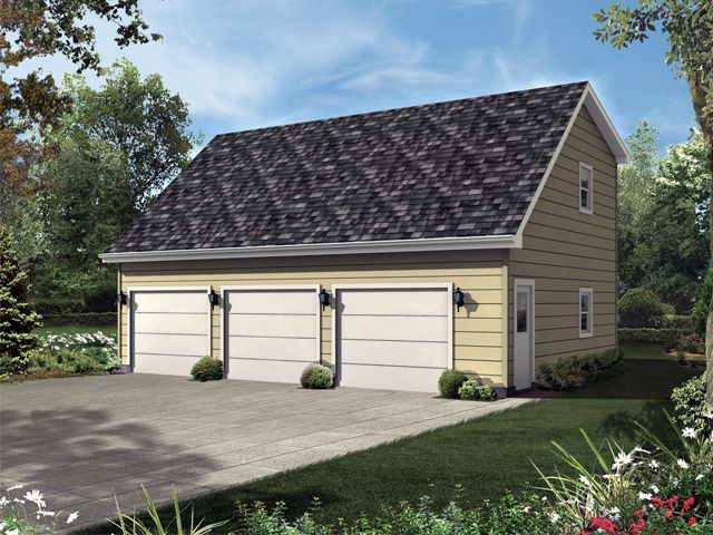 Great Plan 10 163   Just Garage Plans Great Ideas