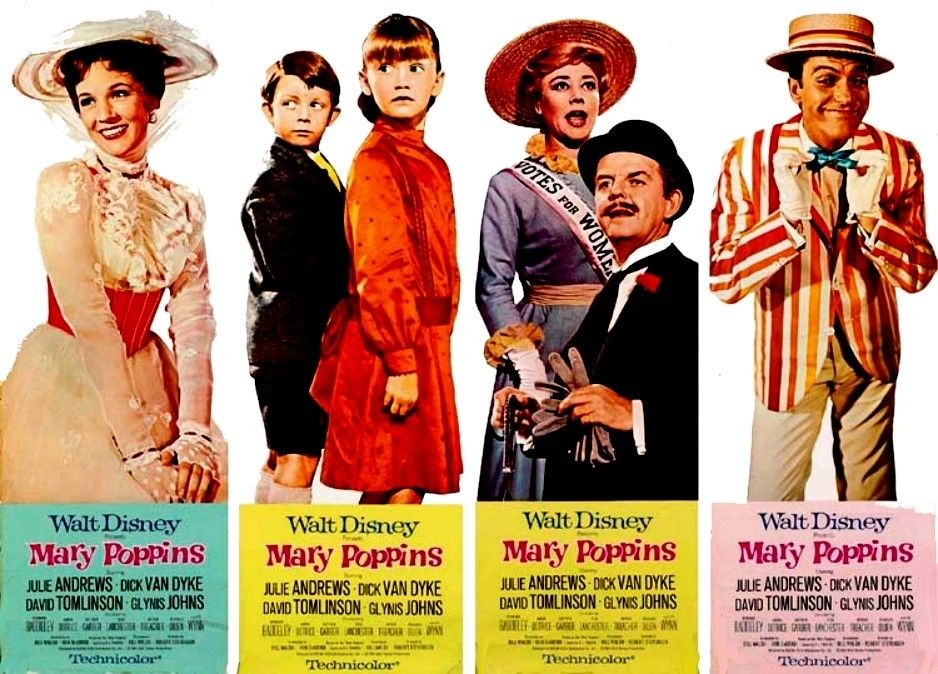 Poster Door Panels Poppins Mary Poppins Movie Mary Poppins