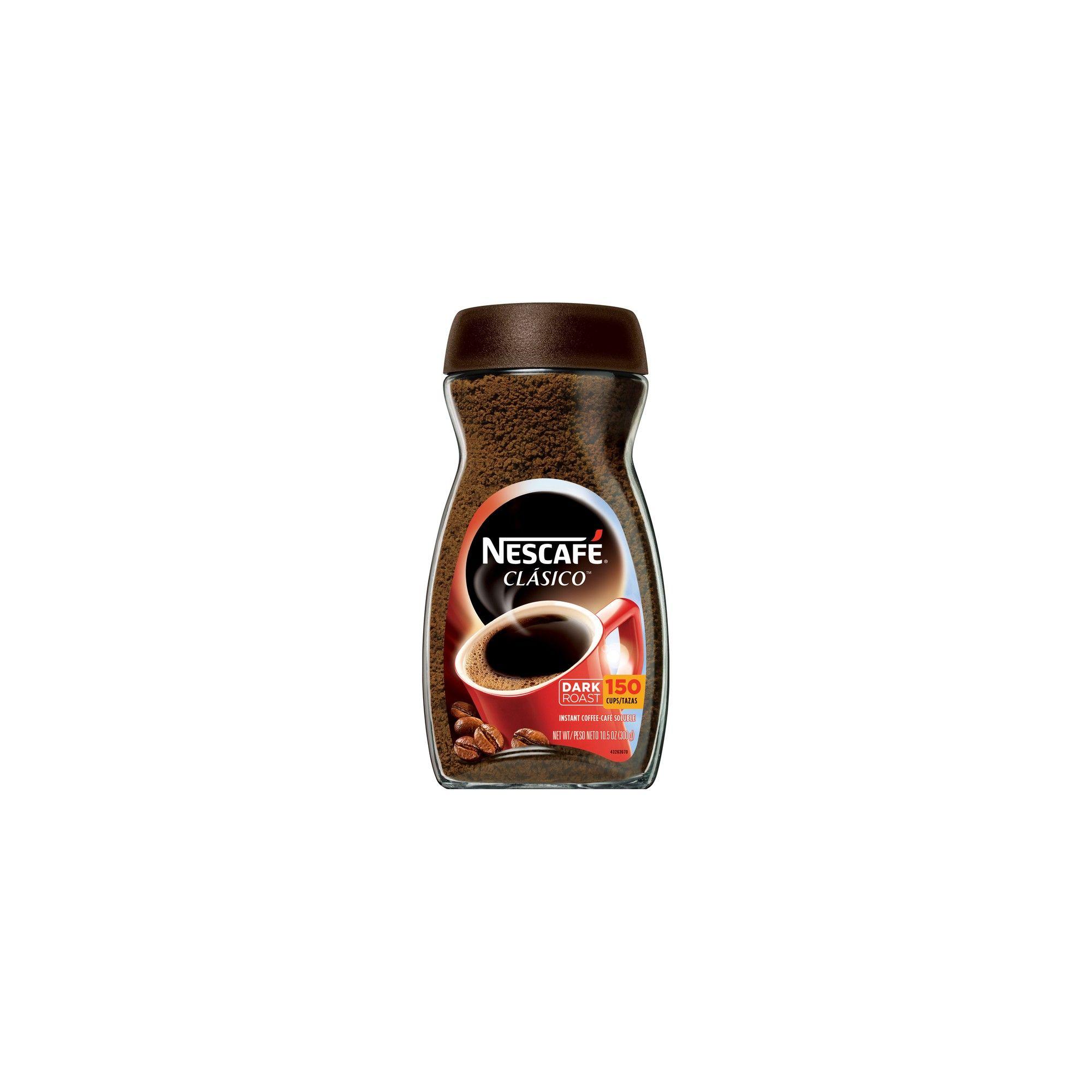 Nescafé Classico Dark Roast Instant Coffee 10.5oz Dark