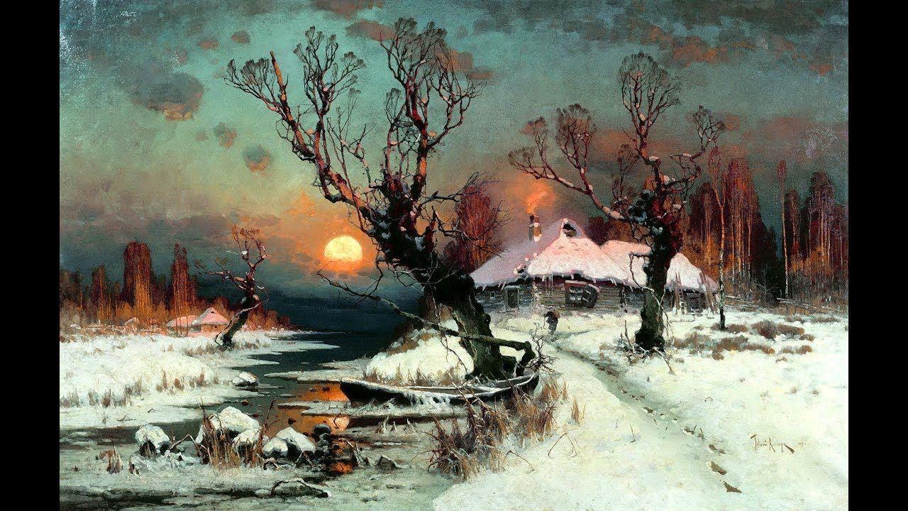 Die großen russischen Landschaftsmaler