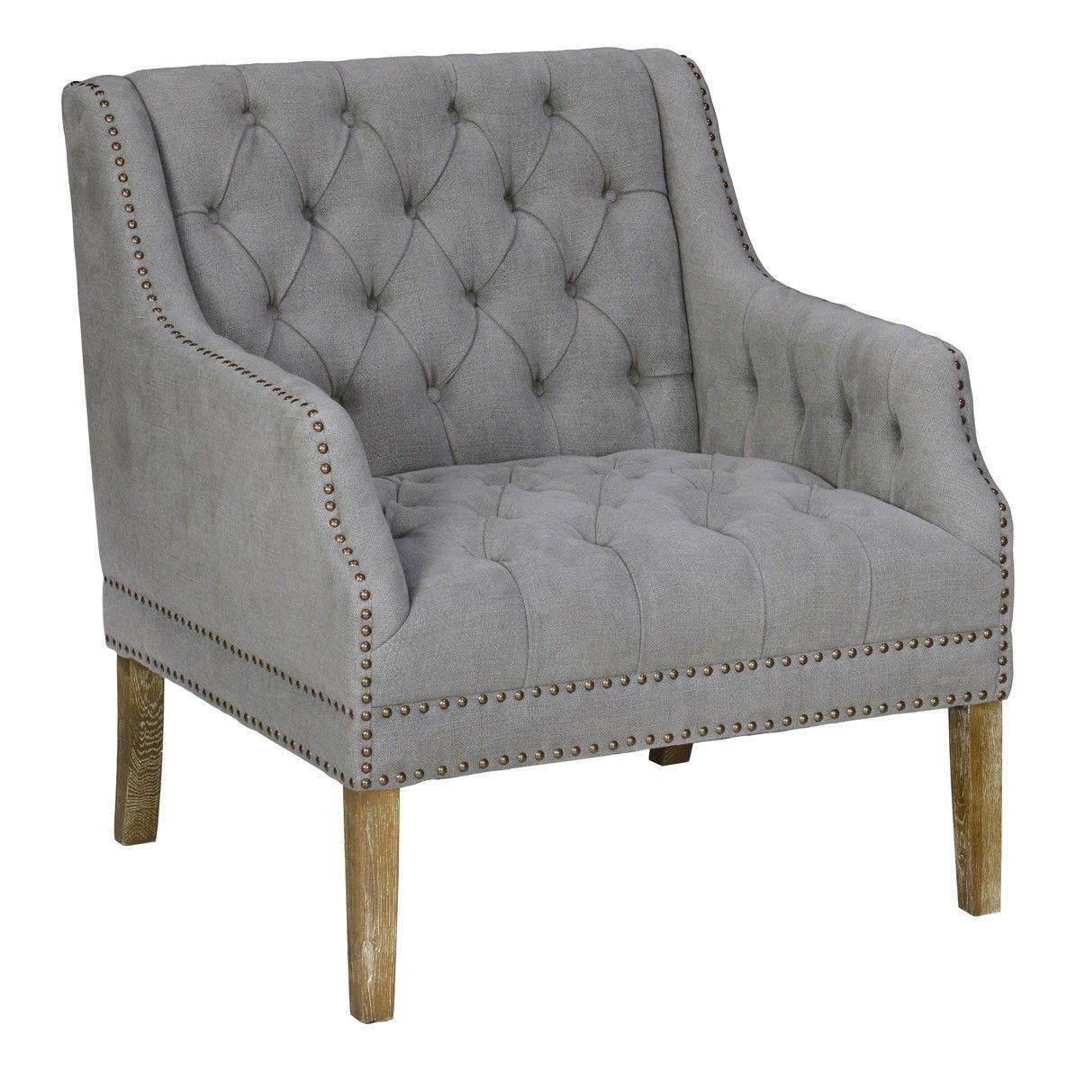 Baltanas Club Chair Stone