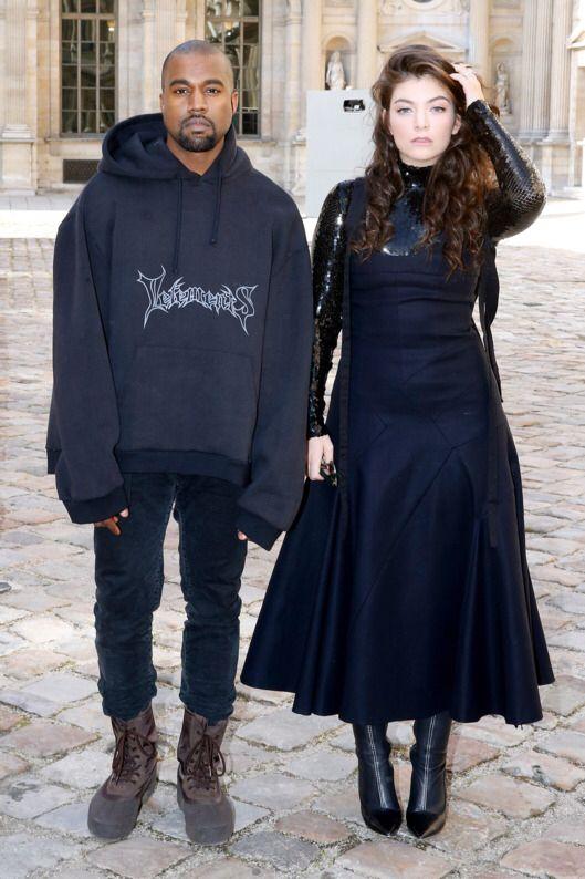 Kanye X Oversized Vetements Hoodie Kanye Fashion Fashion Kanye West Style