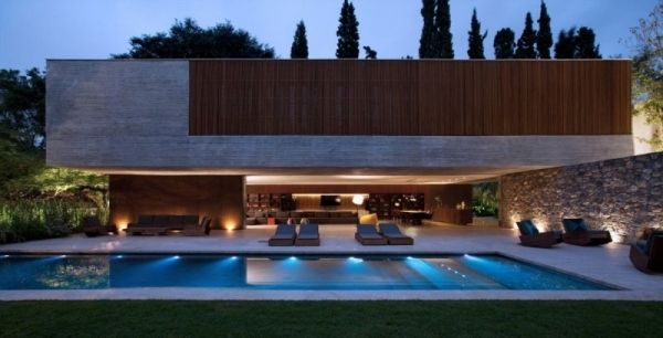 Modernes holzhaus flachdach  flachdachhaus aus Sichtbeton von StudioMK27 | Haus | Pinterest ...