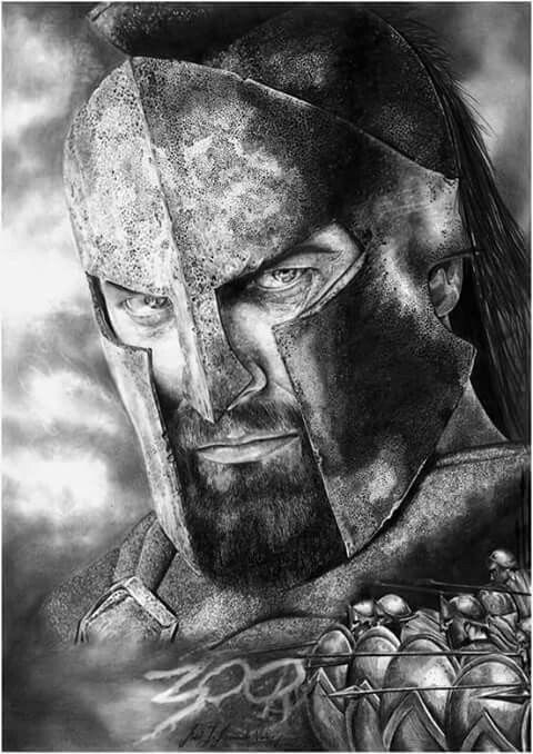 King Leonidas Real The greatest badass in...