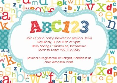 Baby Shower Invitations Baby Shower Invites Baby Shower