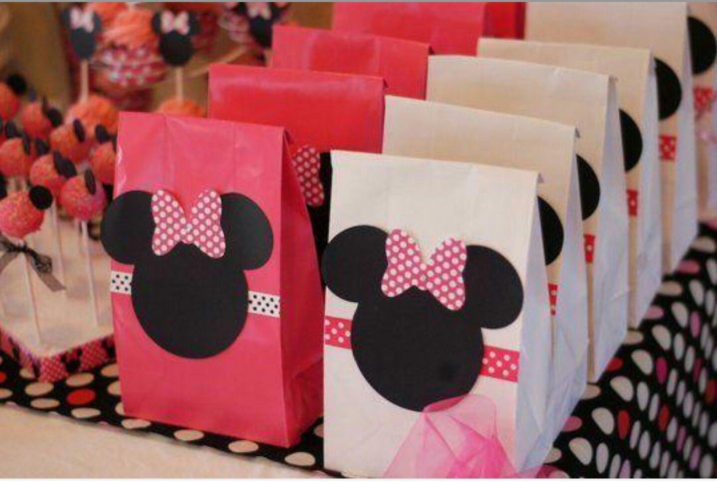 Mickey Minnie Favor Return Gifts Bag