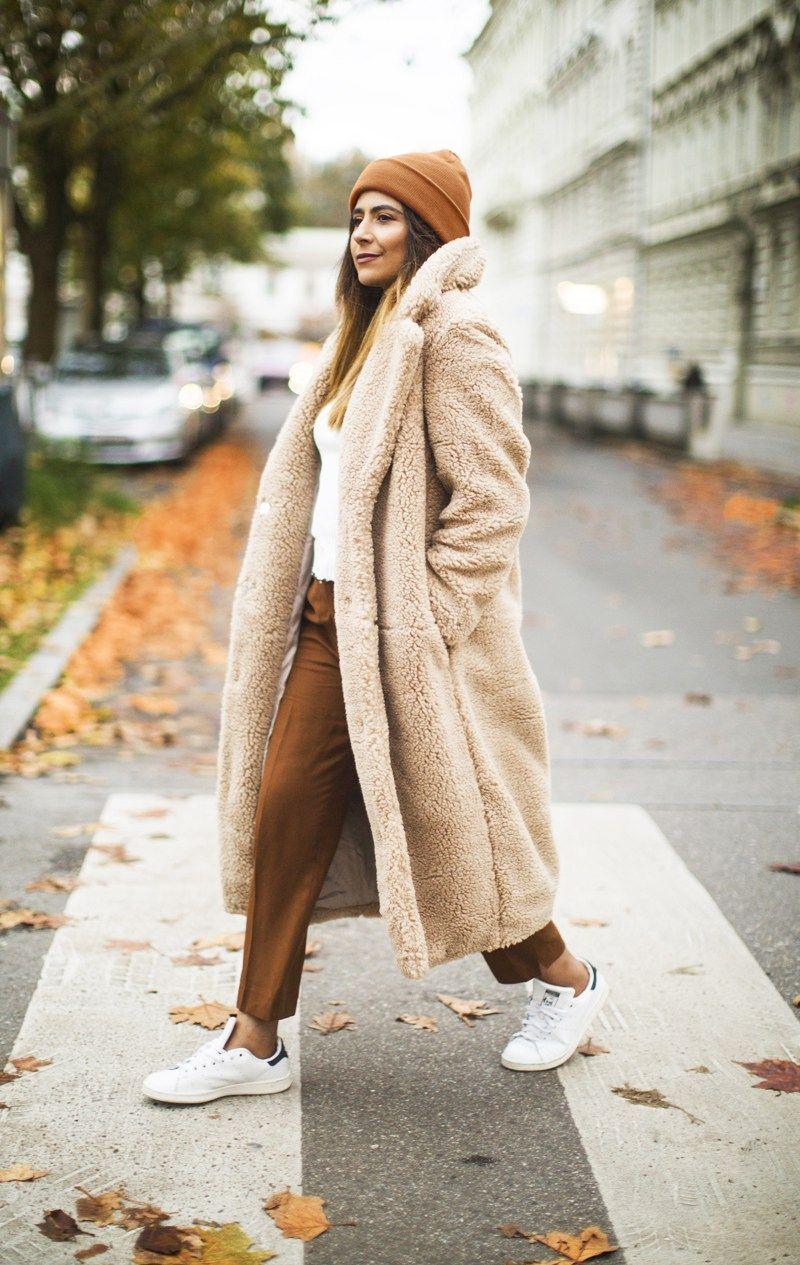 Cozy Teddy Coat Outfit Ideas fashion landscape,com   Coats