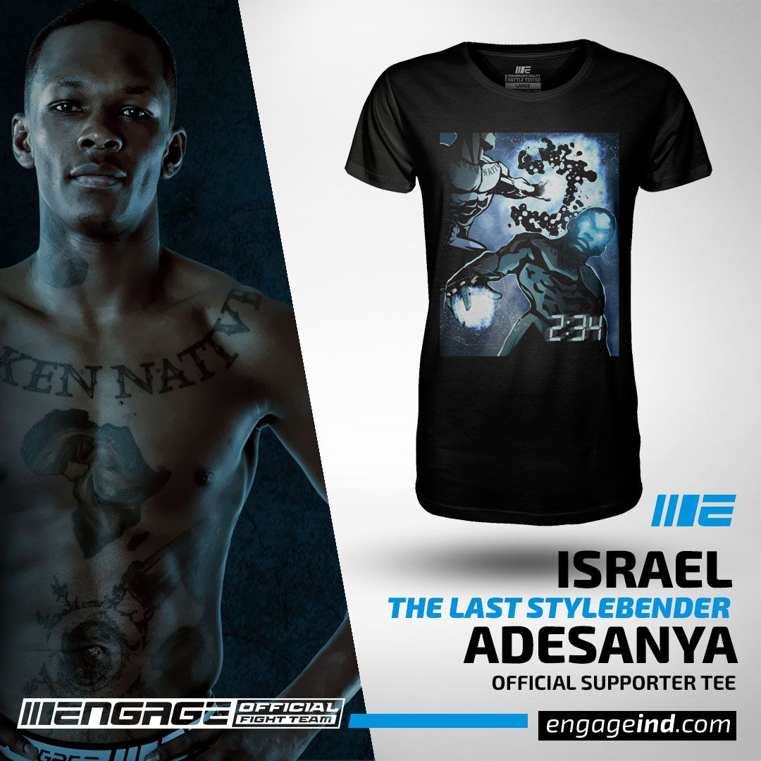 Israel \u0027The Last Style Bender\u0027 Adesanya Player 1 Supporter