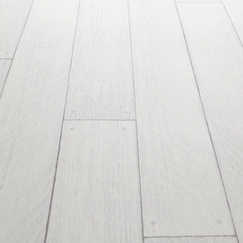 Platinum Virgin White Wood Effect Vinyl Flooring White