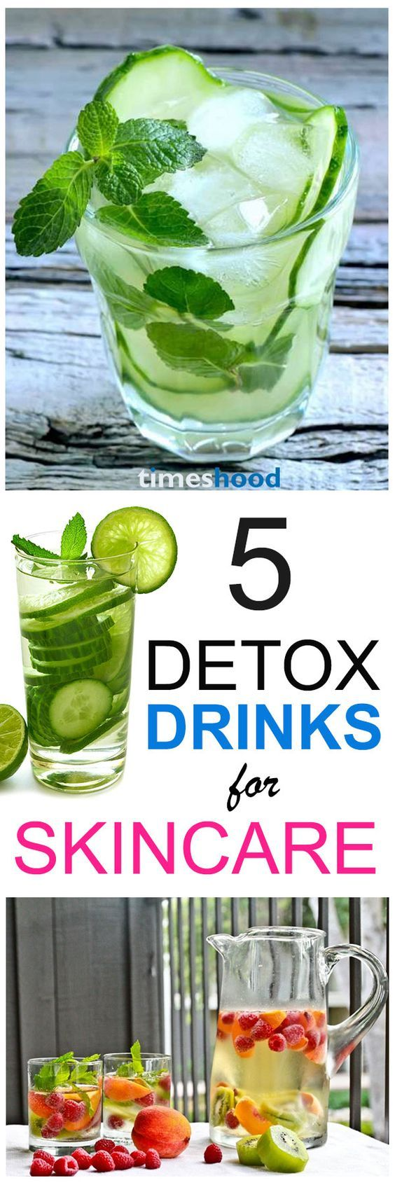 5 Detox Drinks Recipes For Clear Skin