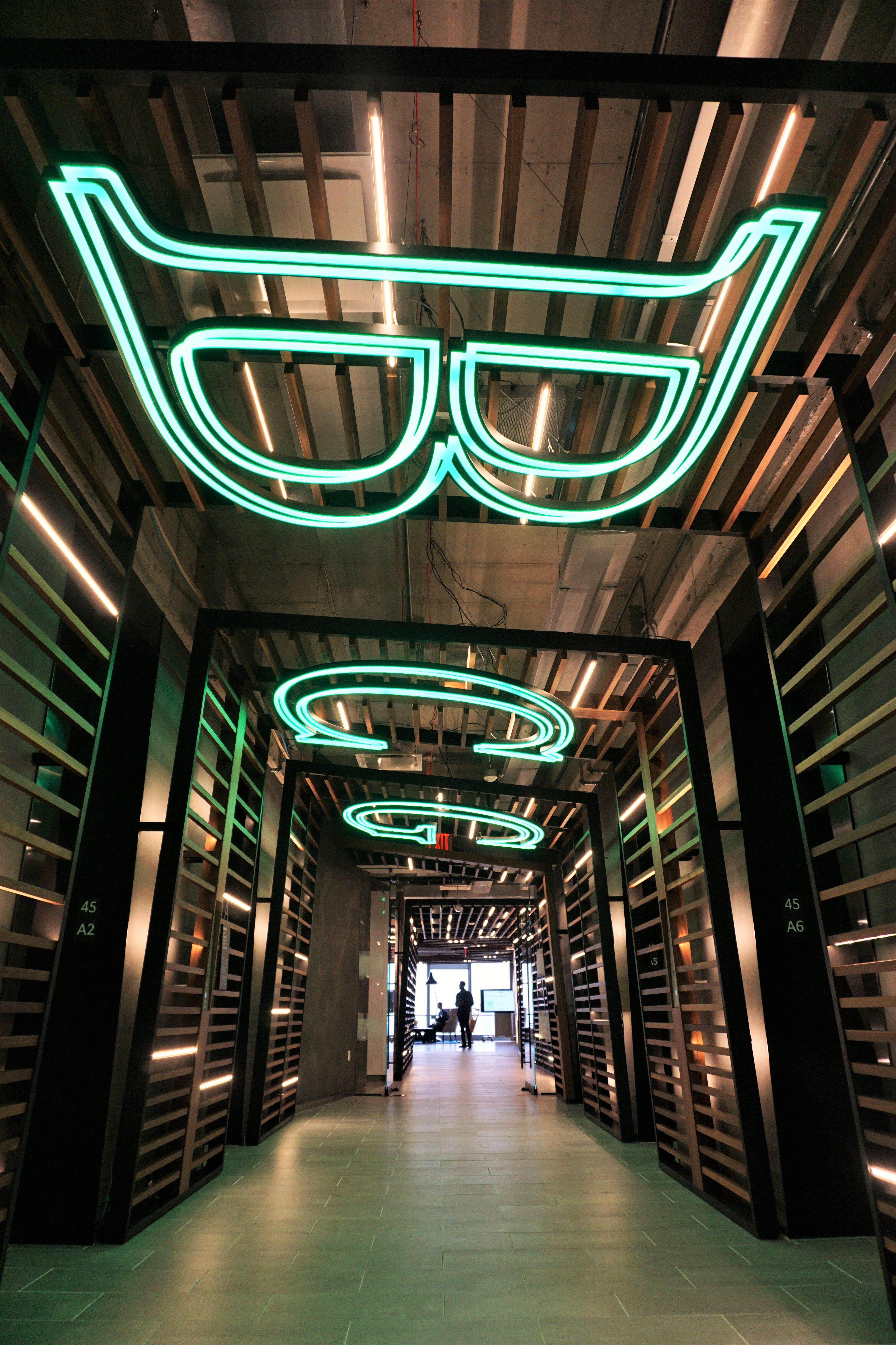 Boston consulting group signage design by gensler for Design consulting nyc