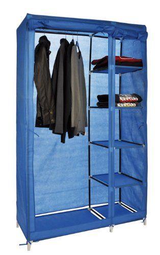 Textil Kleiderschrank, Kleideraufbewahrung, Schrank mit ...