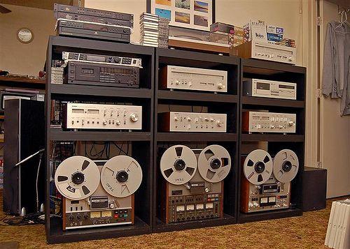 Vintage Teac Reel To Reel Yamaha And More Vintage Hifi