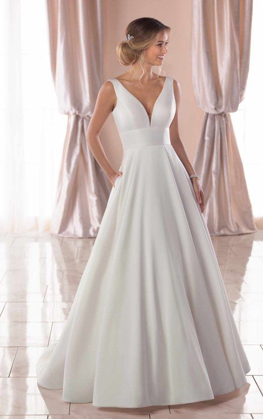 Photo of Royal inspired, true wedding dress – Stella York wedding dresses