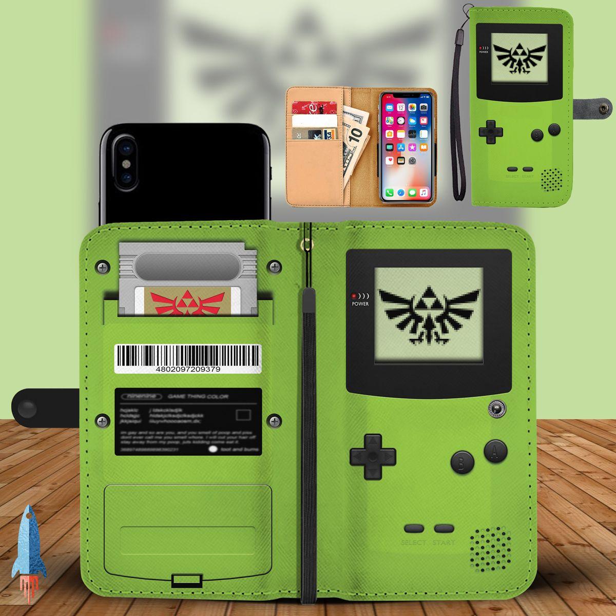 Definitely the coolest zelda phone wallet case ive seen