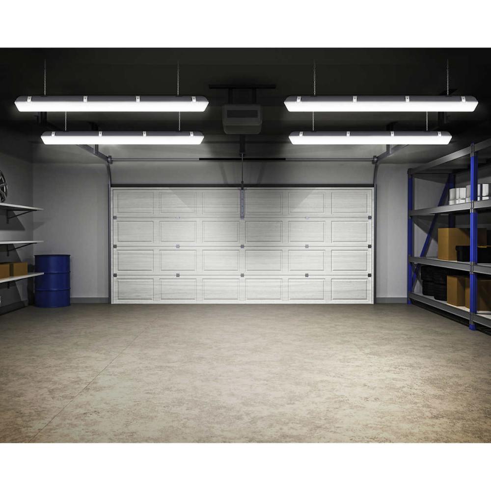 Koda 46 Led Indoor And Outdoor Shop Light With Motion Sensor 2 Pack In 2020 Led Shop Lights Shop Lighting Motion Sensor