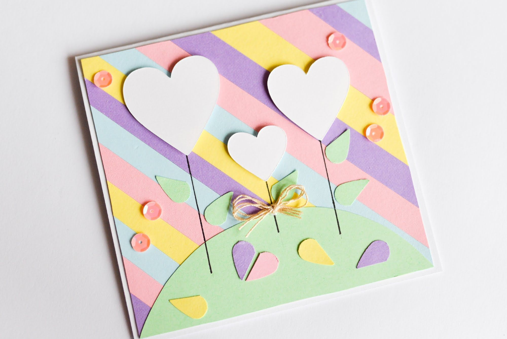 How to make valentines day greeting card easy cute step by step how to make valentines day greeting card easy cute step by step k m4hsunfo