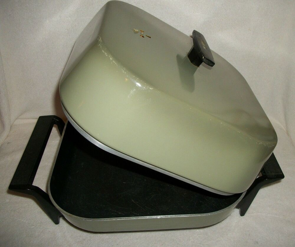 Sunbeam Round Electric Frying Pan