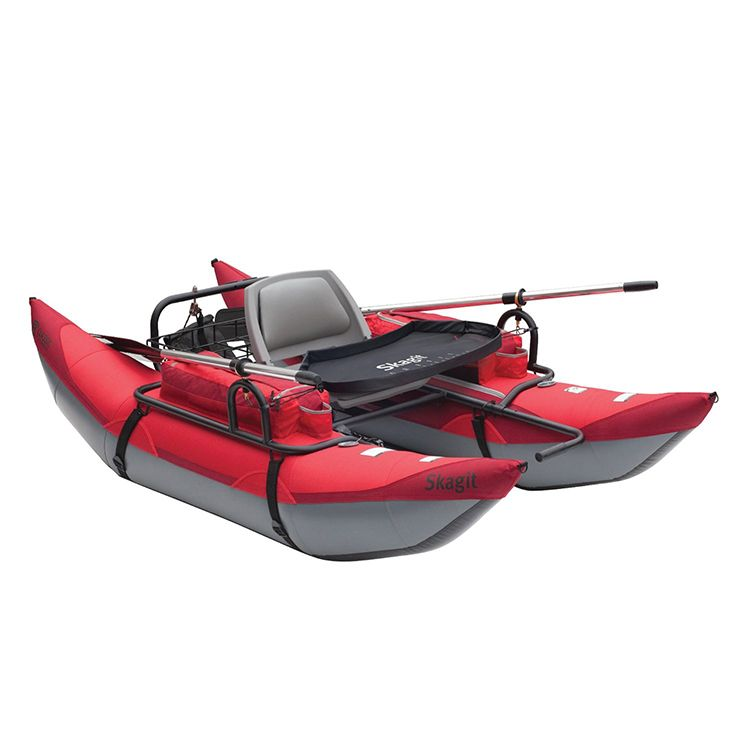 Skagit inflatable pontoon boat gadgets pinterest for Inflatable fishing pontoon