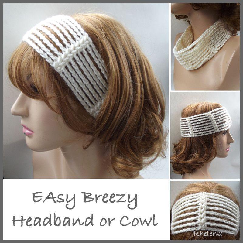 Easy Breezy Headband or Cowl - FREE Crochet Pattern | CROCHET ...