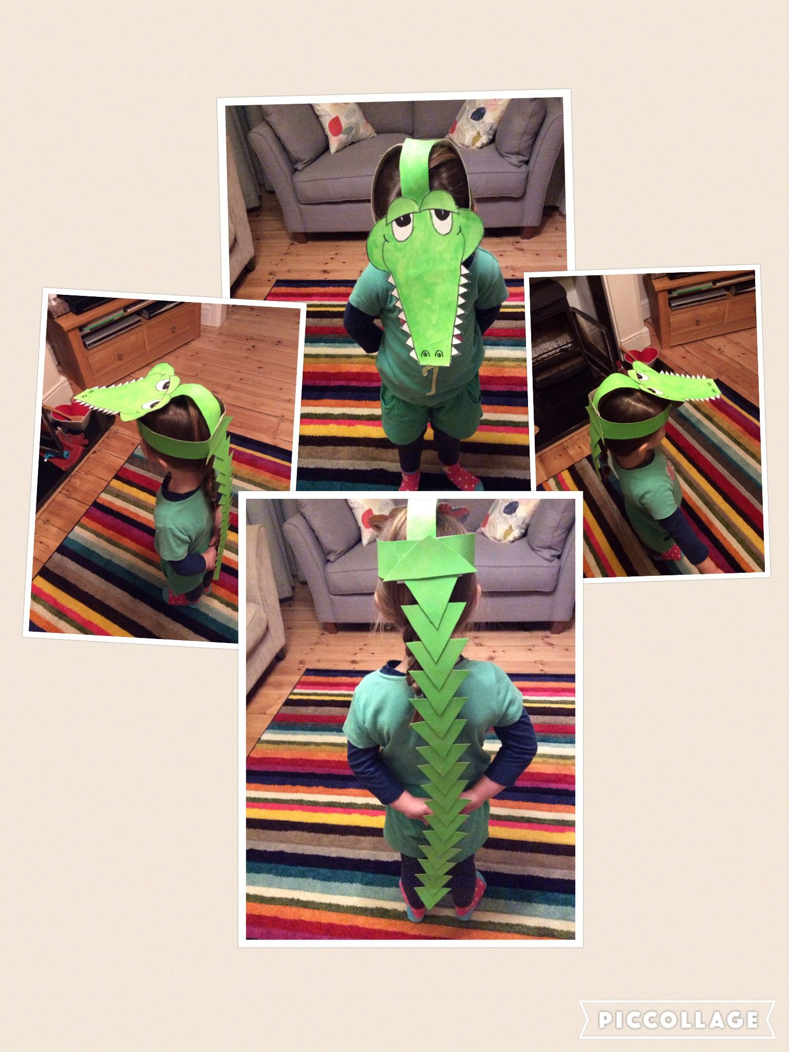 The enormous crocodile costume, Roald Dahl dressing up day at school.