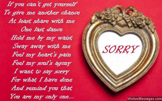 I Am Sorry Messages for Boyfriend Apology Quotes for Him - apology card messages