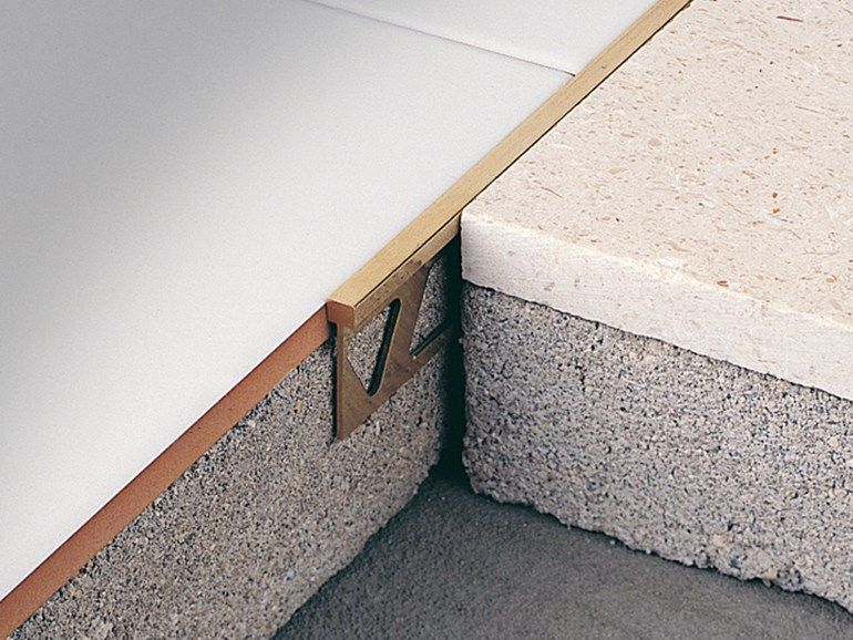 Separation profile for matching floors MB by