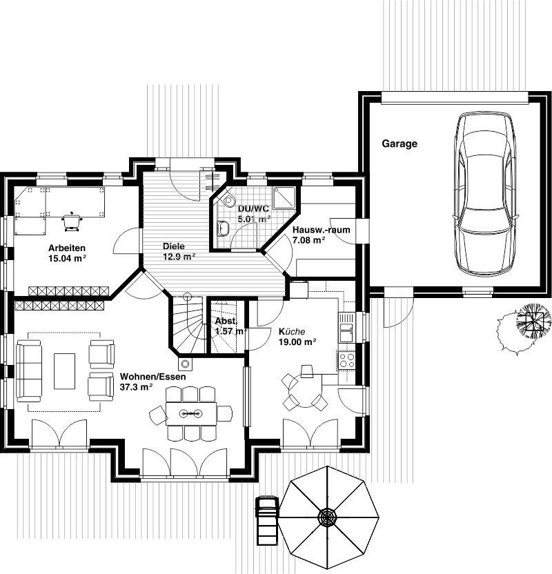 www brinkmann filsum de wohnhaeuser html bauzeichnung grundriss bungalow bungalow