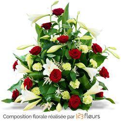 Abenstia Devant De Tombe Fleurs Deuil Livraison Fleurs Et