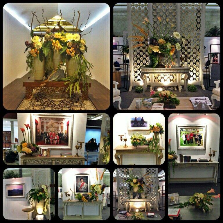 Flower arrangements by Ebimoekti Decoration Jakarta