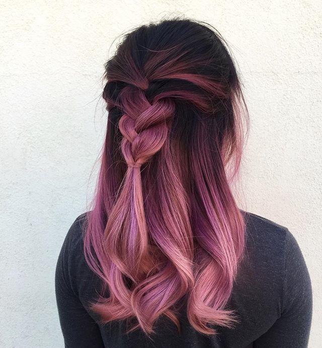 R0 E G0ld Kfebre Hair Styles Pink Hair Dyed Hair