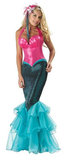 Elite Sexy Mermaid Costume  sc 1 st  Pinterest & Magical Mermaid Costumes for Halloween | Animal Costumes by Mr ...