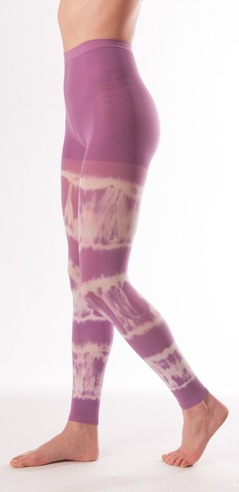 c9fd1cd7783150 Juzo Soft Tie-Dye Compression Leggings 15-20mmHg in Mardi Gras Purple #juzo  #dreamcolors #compression #leggings #pantyhose #tights #tiedye #purple