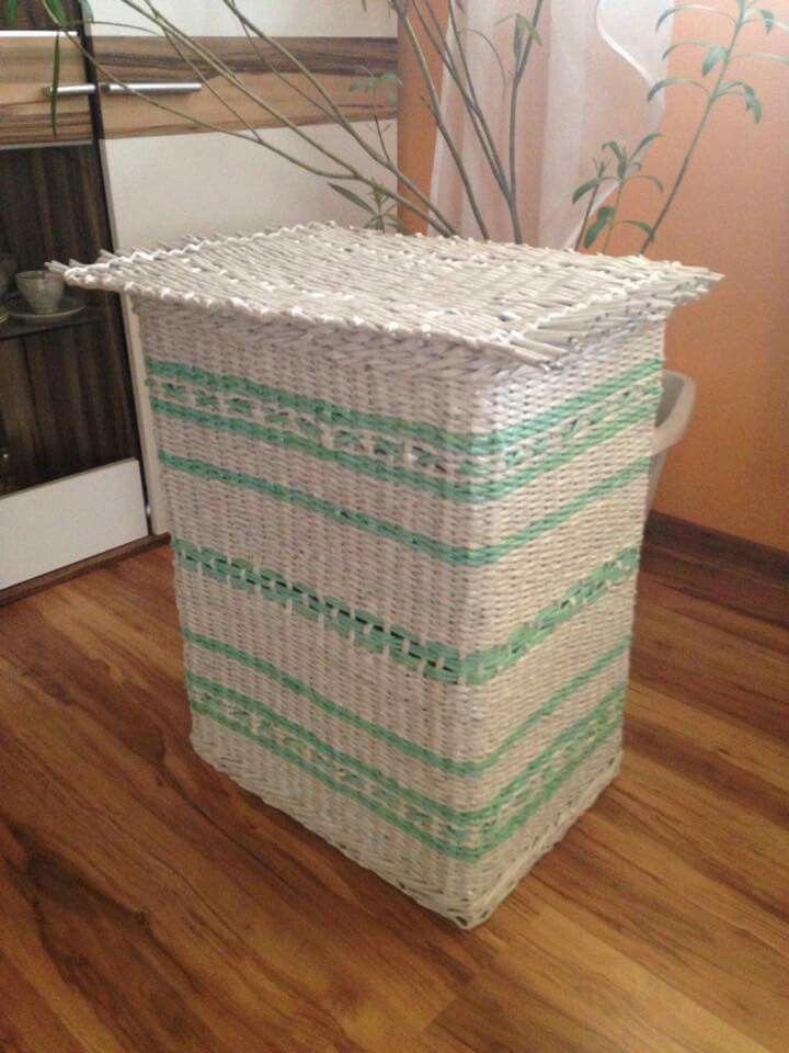 95767425e Prvotina z velkych krabic | Pletenie z papiera