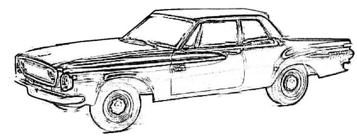 Dodge Dart Coloring Page Dodge Dart Coloring Pages Color