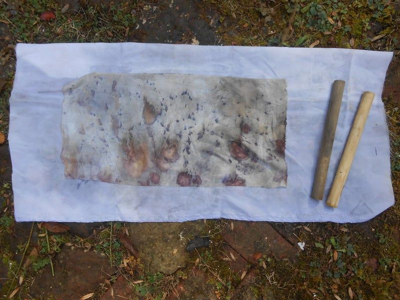 EcoPrinting With Rust & Vinegar in 2020 Eco printing