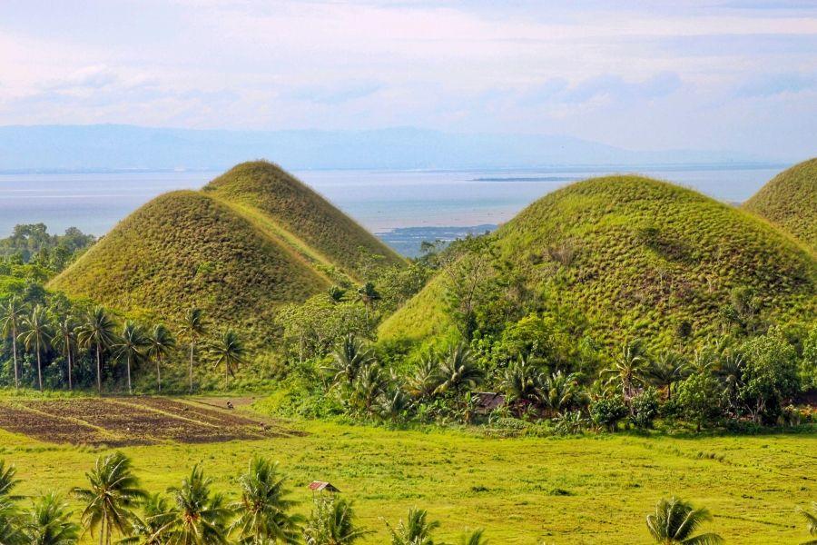 Carmen view of chocolate hills