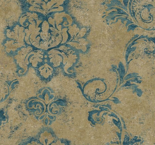 York Wallcoverings DD8328 Designer Damask Andalucia ...