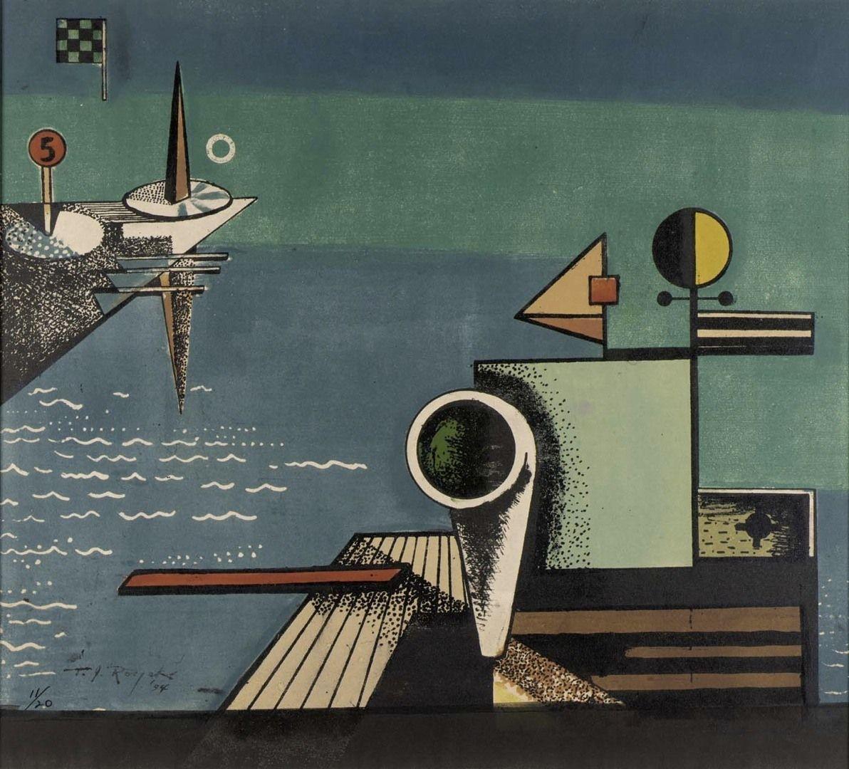 Image detail for -Theodore Roszak: Staten Island, 1934 by Smithsonian American Art ...