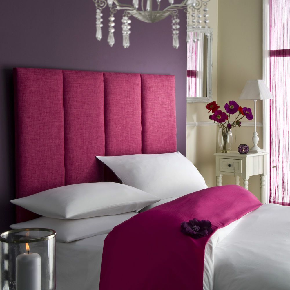 Tass High Headboard All Colours Bed All Sizes Linen Single Double